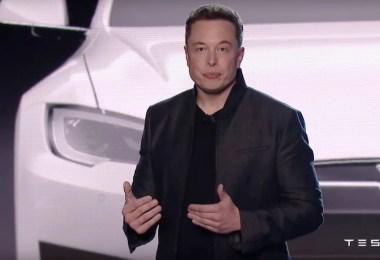 elon musk tesla model 3 event - Tesla apresentou o carro popular que vai revolucionar o mundo