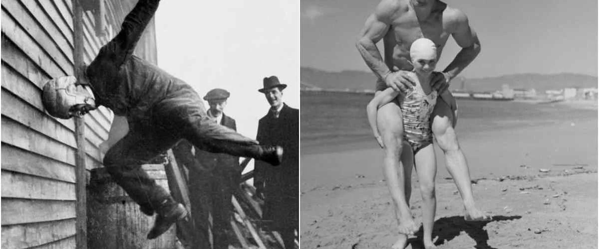 fotos antigas estranhas - Fotos antigas: Os seres humanos sempre foram tão estranhos?