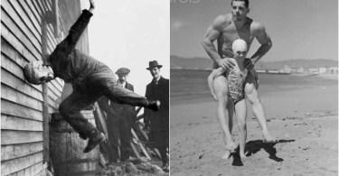 fotos antigas estranhas - Diferenças de abordagem em uma matéria de televisão