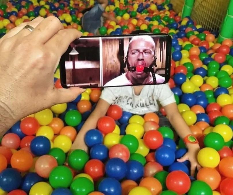 fotos legais com celuar5 - Imagens sobrepostas com celular – O resultado é bem divertido! (Parte 3)