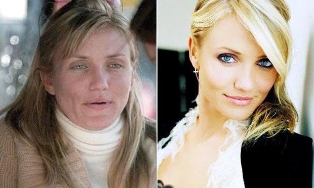celebridades sem maquiagem
