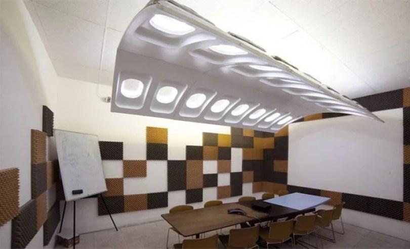peças de avião viram moveis 21 - Móveis feitos com peças de avião