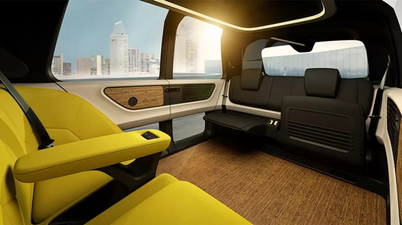 sedric conceito carro da volks 2 - Volkswagen e o Sedric carro do futuro