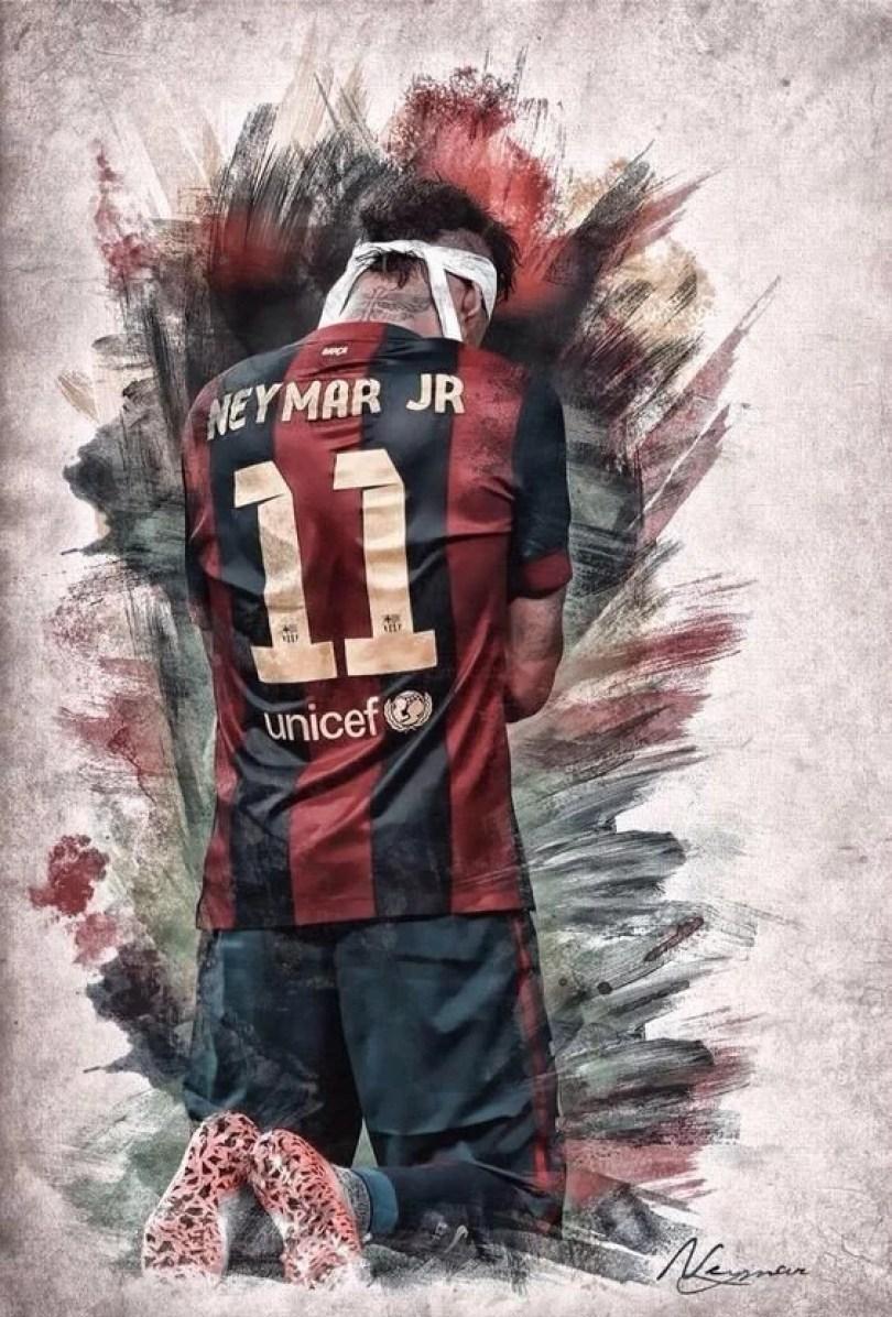 despedido do Neymar do Barcelona2 - Texto e vídeo de despedida do Neymar do Barcelona
