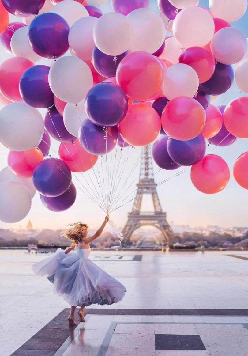 imagens impressionantes4 - Fotos impressionantes de meninas com vestidos em cenários deslumbrantes