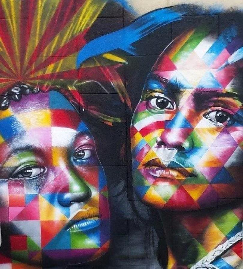kobra taiti2 - Murais de Graffiti de Eduardo Kobra pelo mundo