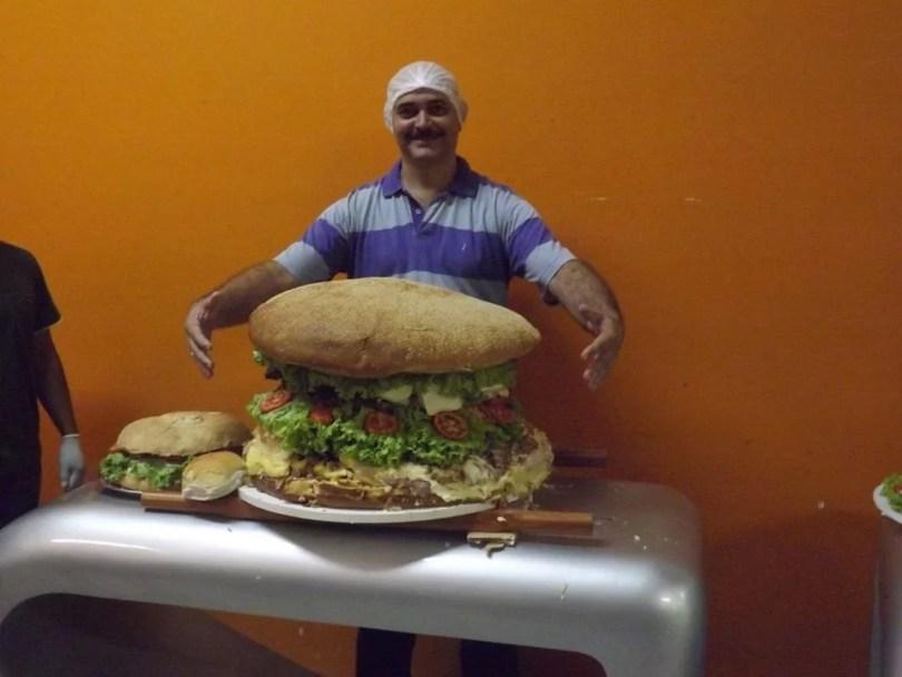 maior sanduiche - Qual o maior sanduíche do Brasil?