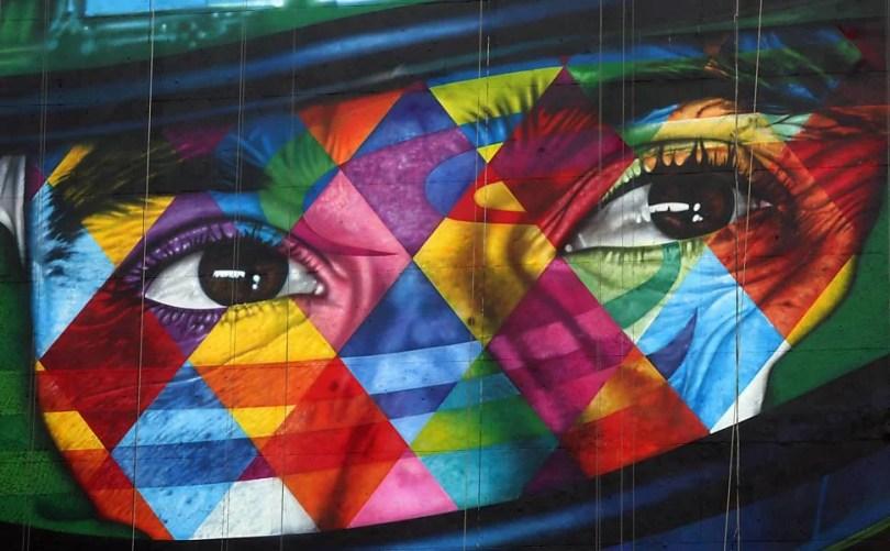 mural airton senna - Murais de Graffiti de Eduardo Kobra pelo mundo