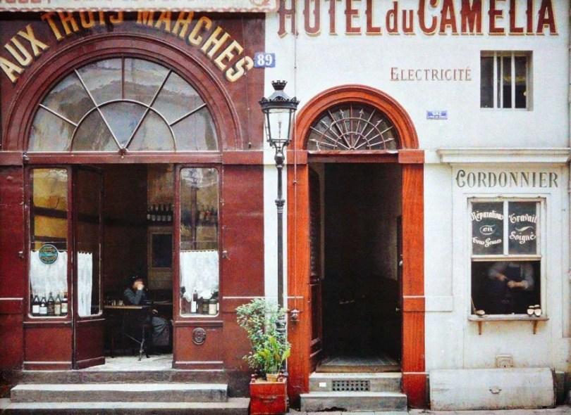 vintage color photos paris albert kahn 130  880 - Fotos Vintages de Paris em cores durante a belle Époque