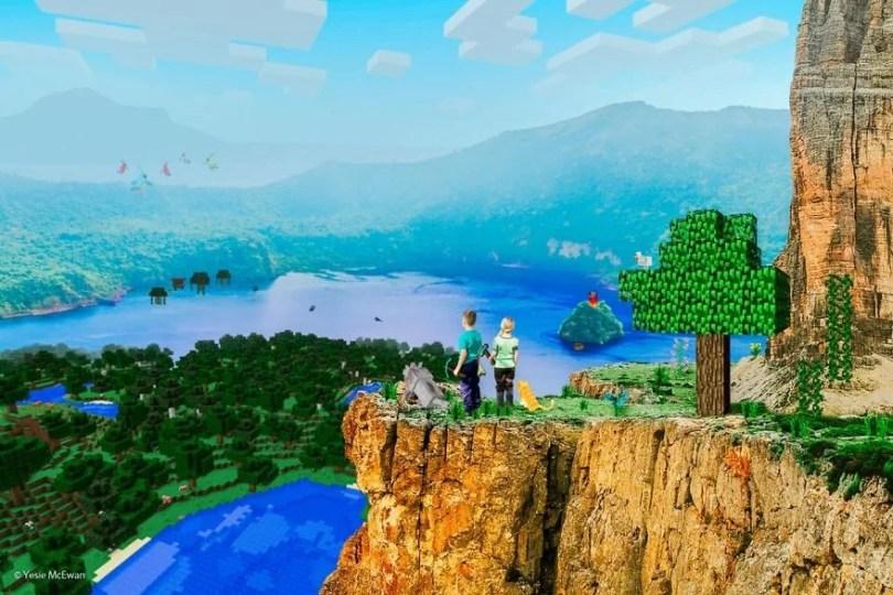 Minecraft Photo Series