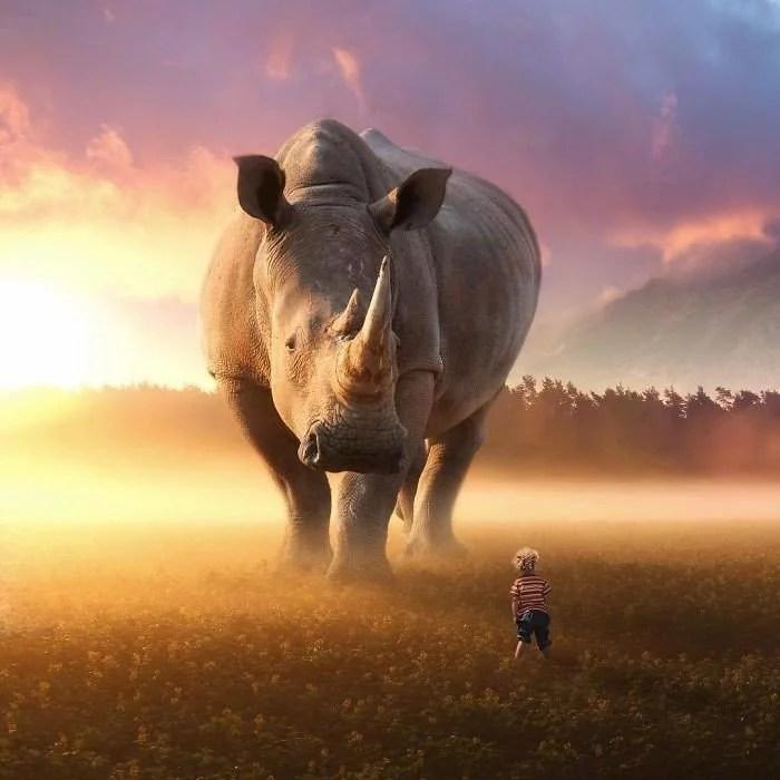 animals gigants 16 - Photoshop: Imagine um mundo com animais gigantes