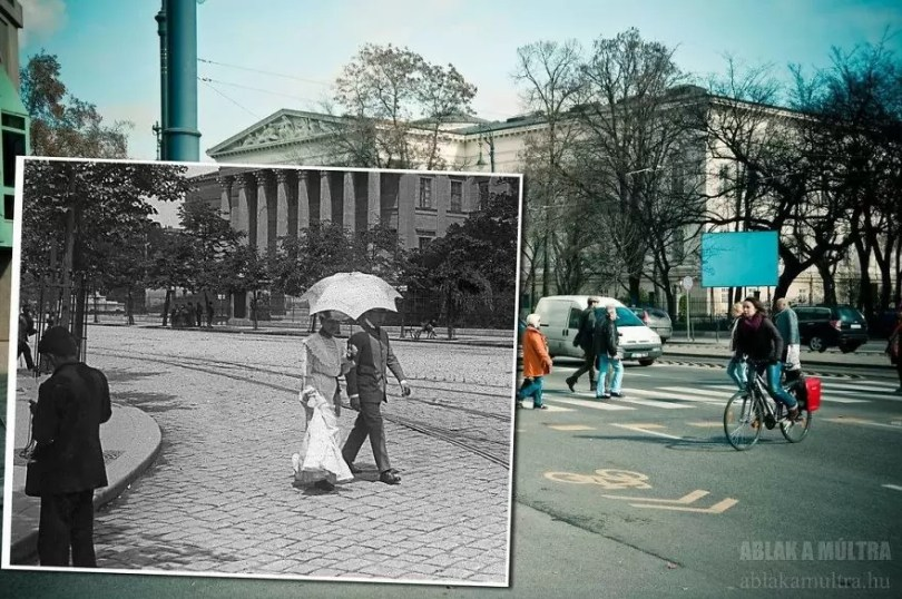 Photographer joins the present and the past in an image and the result is incredible 5b46784e8f074  880 - Fotografias mostram o mesmo lugar anos atrás