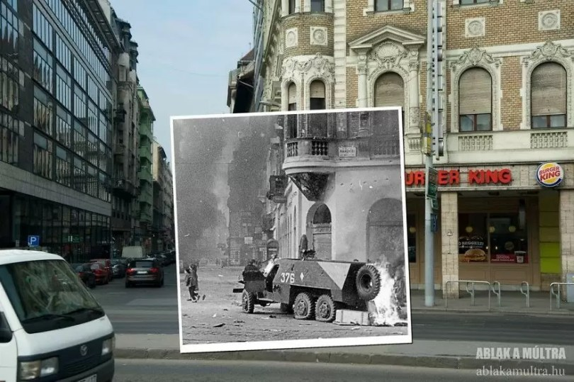 Photographer joins the present and the past in an image and the result is incredible 5b46787005565  880 - Fotografias mostram o mesmo lugar anos atrás