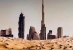 Dubai uma cidade no deserto - 20 fotos aéreas impressionantes que mostram o deserto tomando conta de Dubai