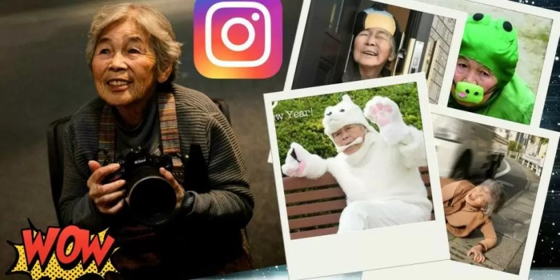 Kimiko Nishimoto instagram - Senhora divertida de 90 anos tem mais de 200 mil seguidores no Instagram