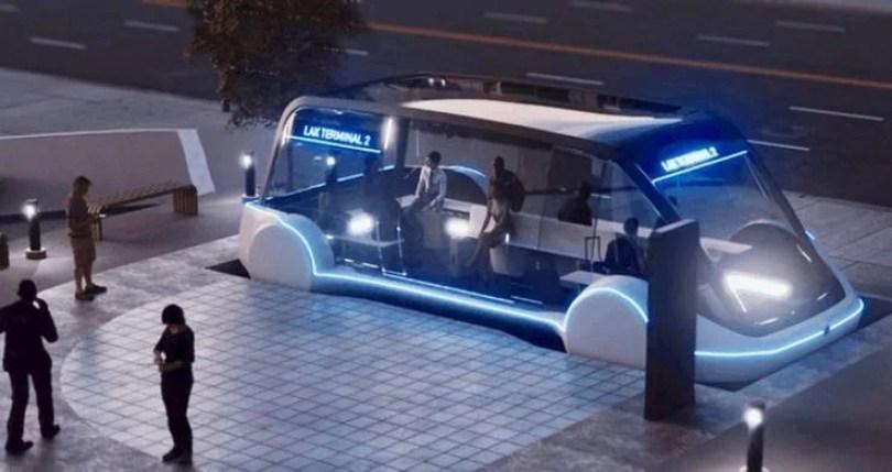 Túnel de Elon Musk já tem data para revolucionar o Transporte Público Musk Tunnel Via UK Express 2 - Túnel de Elon Musk já tem data para revolucionar o transporte público no Mundo!