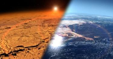 atmosfera marte mars landscape dry wet - Artigo na revista Science comprova que Núcleo é sólido e Terra não é plana