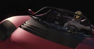 """starman roadster tesla5 - Onde está atualmente o Tesla Roadster com o """"Starman"""" no espaço?"""