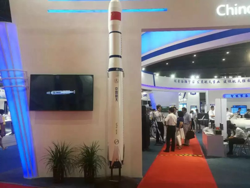 china iguala space xLong March 6X Rocket model Sept 2018 SAST 1 - China se iguala SpaceX e já retorna primeiro estágio em testes