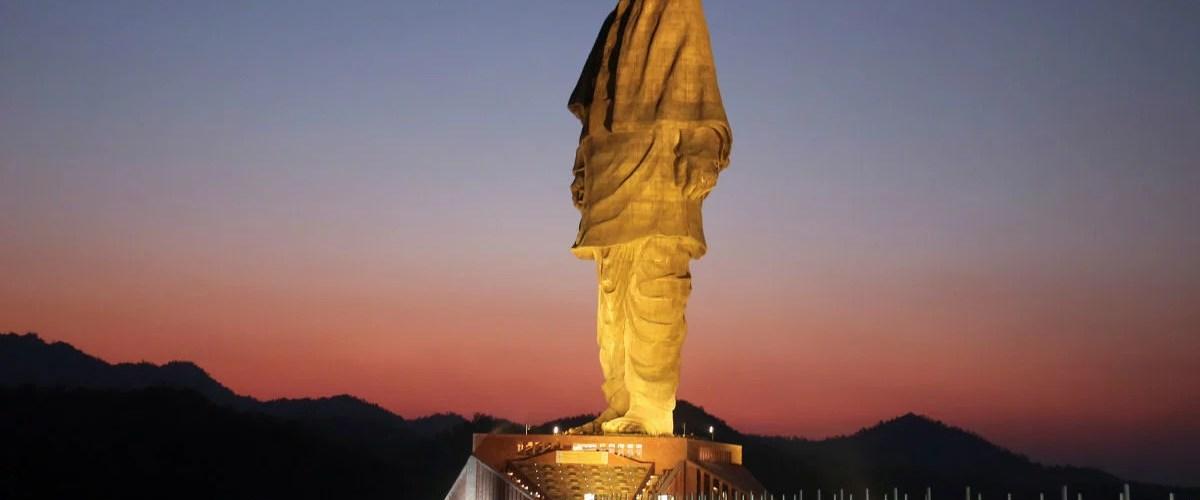 estatua unidade patel india 02 - Estátua mais alta do mundo é 6 vezes maior do que o Cristo Redentor
