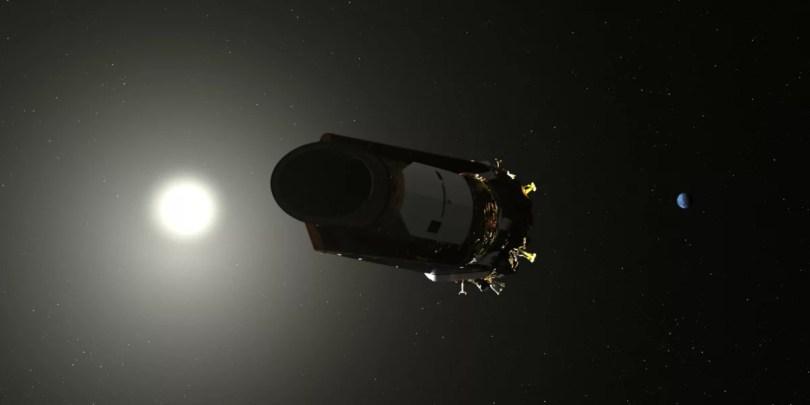 Concepção artística de Kepler. Créditos: NASA / Ames / Dan Rutter
