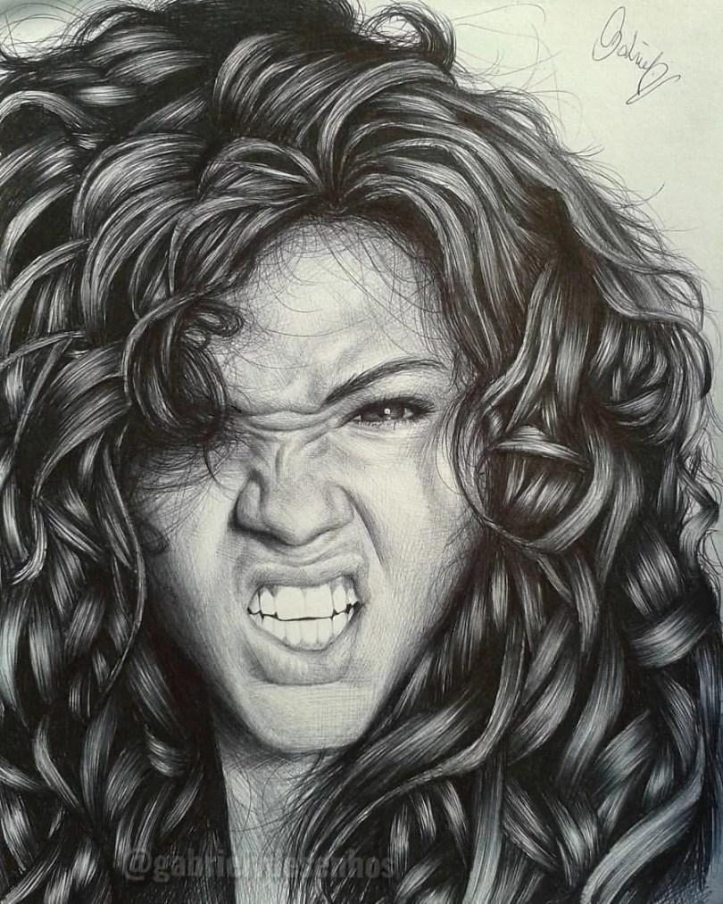 Artista Brasileira Cria Desenhos Que Visualizam Perfeitamente As Emoções Das Pessoas 1 1 - Brasileiro cria desenhos que visualizam perfeitamente as emoções das pessoas #Parte 2