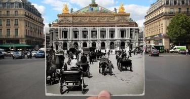 Essa seria a minha explicação de por que a série de fotos de Paris vintage por Julien Knez é tão satisfatória para assistir old paris past now photography julien knez 10 - Aprenda a fotografar profissionalmente com o Curso Master Cara da Foto
