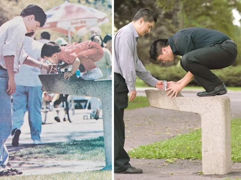 fotos antigas de familia 15 - Famílias reproduzem suas fotos antigas com hoje em dia #Parte 2
