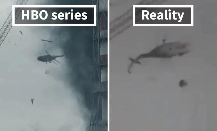 fotos reais de chernobyl - Fotos de Chernobyl da HBO em comparação a fotos reais