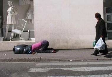manequim narua foto - Manequins realistas nas ruas