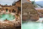 piscina romana - Balneário romano construído mais de 2.000 anos atrás ainda está funcionando