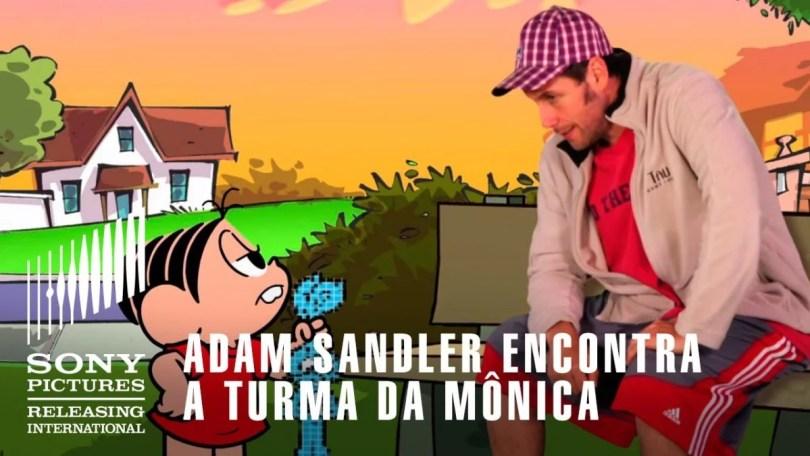"""adlam sandler encontra monica - Você já viu os vídeos gibi da Turma da Mônica em inglês? """"Monica's Gang"""""""