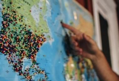 mapa by kelsey knight cke - Menina de 21 anos torna-se a pessoa mais jovem a visitar todos os países