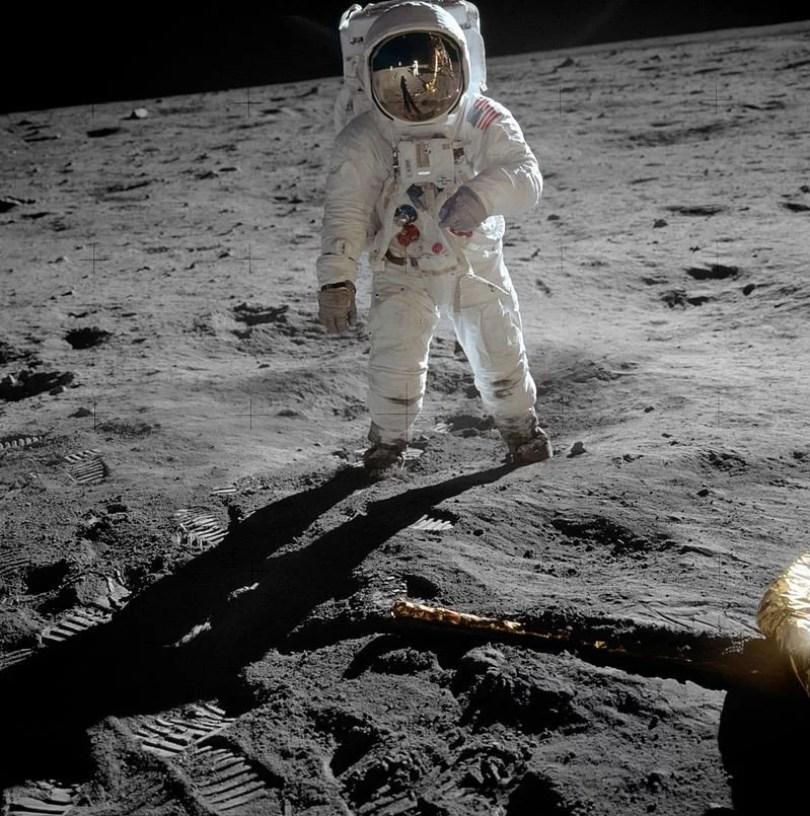projetoa apollo11 Aldrin Apollo 11 original - Por que o programa da NASA de ir a Lua em 2024 se chama ÁRTEMIS?