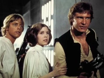 star wars 1977 artistas - Star Wars de 1977 O antes e depois dos artistas