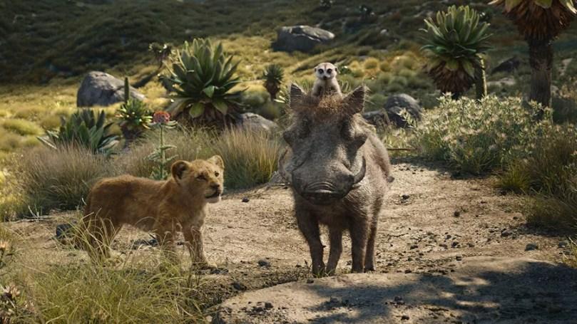 timao pumba e simba em o rei leao 1562964397692 v2 900x506 - Cena onde Timão e Pumba encontram Simba é liberada pela Disney