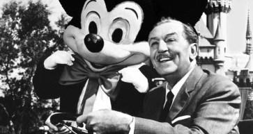walt disney - Dia de abertura da Disneylândia em 1955