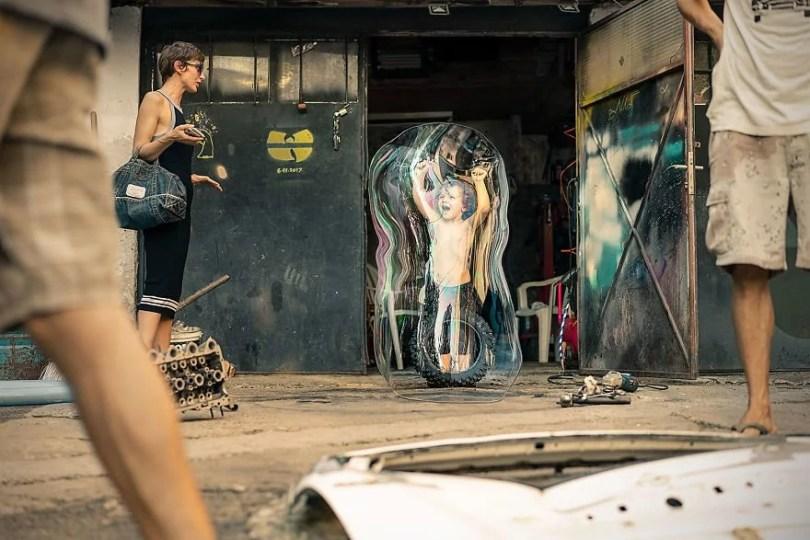 Vivendo em uma bolha minha série de fotos2 - Série fotográfica: Vivendo em uma bolha