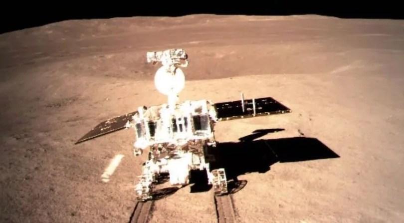 Chang'e 4 - Sonda chinesa se depara com um gel estranho no lado oculto da Lua