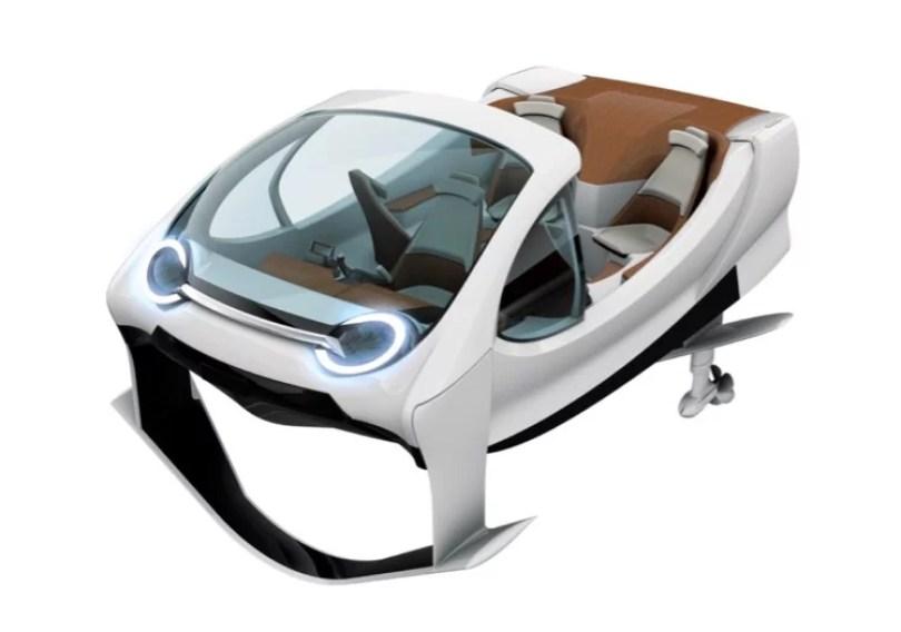 carro aquatico - Protótipo de carro aquático é pego pela polícia por excesso de velocidade!