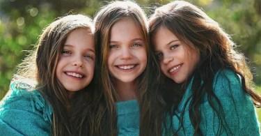 fotos adoráveis tri gemeas lindas miss modelos - Qual é a maior palavra do Inglês, do português e do mundo?