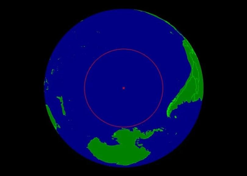 ponto nemo oceanic pole of inaccessibility - Qual o lugar mais distante de tudo e de todos?