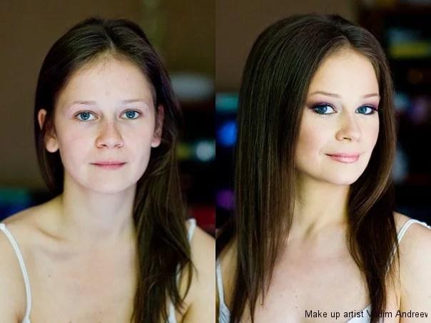 makeup before after vandreev 5 - 13 Fotos de maquiagem incríveis antes e depois