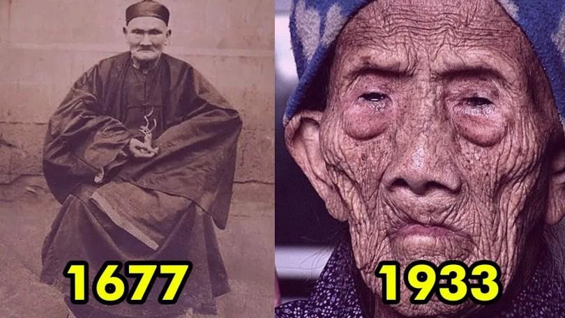 homem mais velho do mundo - Possivelmente estes senhores foram - A pessoa mais velha do mundo