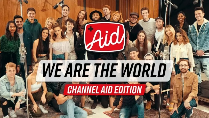 """we are the world - Canal do Youtube refaz vídeo """"We are the World"""" em 2020"""