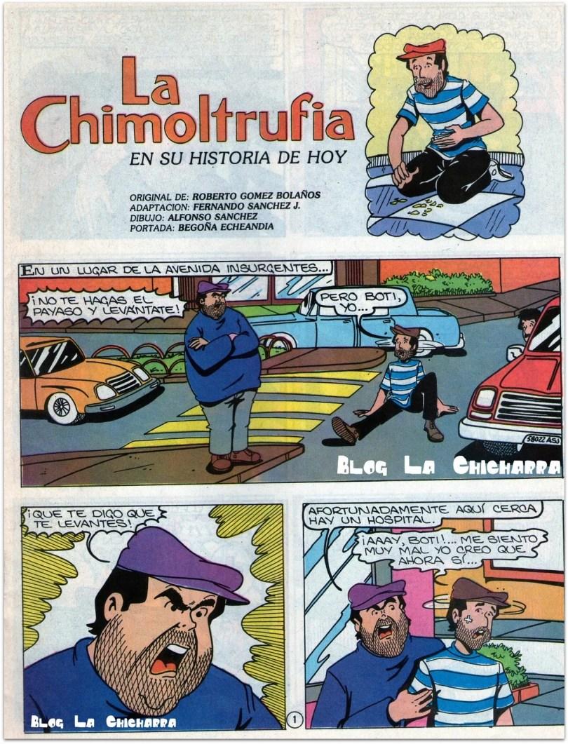 gibi da chimontrufia 03 - Os Gibis mais raros e exclusivos de Chaves & Chapolin
