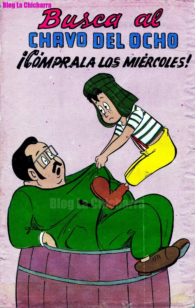 la pachita gibi antigo chaves 1970 capa 01 - Os Gibis mais raros e exclusivos de Chaves & Chapolin