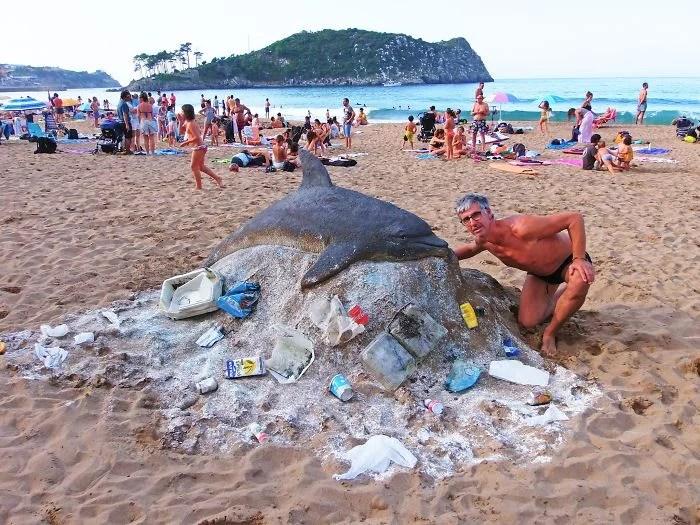 melhor escultor de areia do mundo sand art bull andoni 15 - As impressionantes esculturas realistas de areia de Andoni Bastarrika