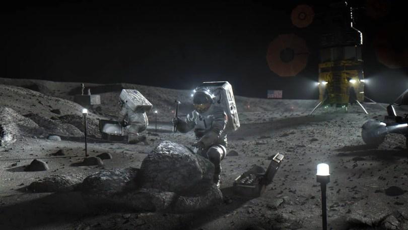 nasa pousa primeira mulher na lua - NASA delega pouso humano na Lua a 3 empresas
