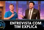 danilo gentili entrevista tim explica - Danilo Gentilli entrevista Tim Explica | The Noite